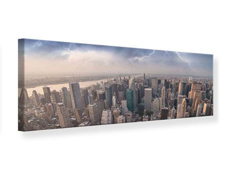 Impresion en Canvas Panoramico Manhattan