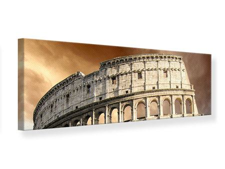 Panoramic Canvas Print Colosseum Rome