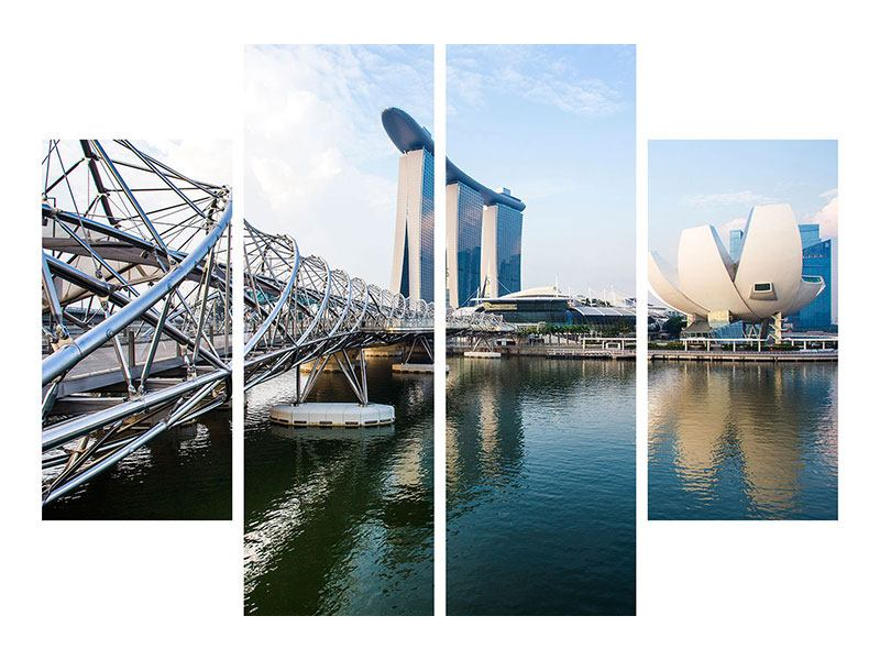 4 Piece Canvas Print Singapore