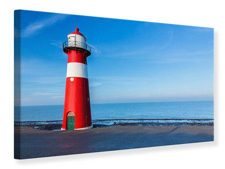 Canvas Print Summer At The Lighthouse
