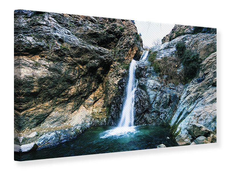 Canvas Print Moving Water