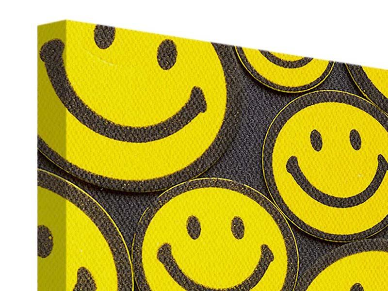 Stampa su tela Smiley