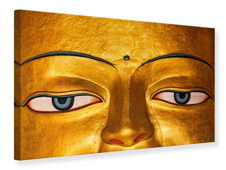 Canvas Print The Eyes Of Buddha