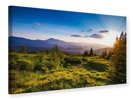 Canvas Print Peaceful Landscape