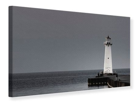 Canvas Print The Lighthouse At Night