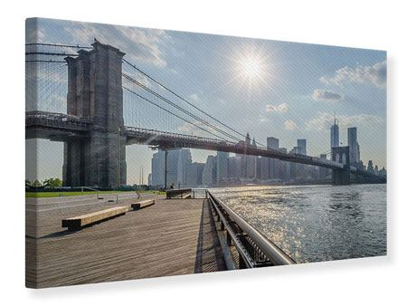 Impresion en Canvas Puente de Brooklyn