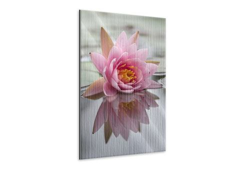 Metallic Print Lotus