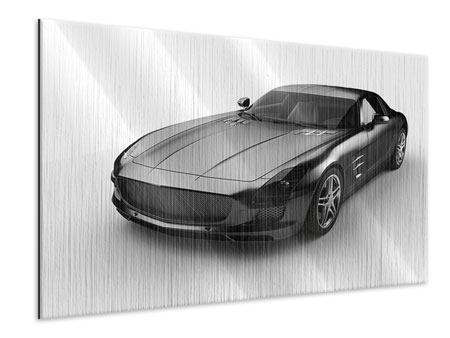 Metallic Print 007 Car