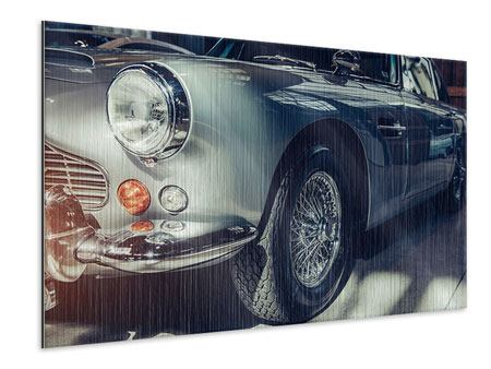 Metallic Print Classic Car