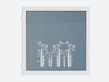Decorative Window Film bamboo forest