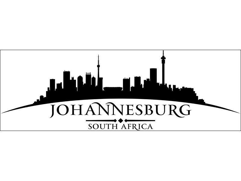 Decorative Window Film Skyline Johannesburg