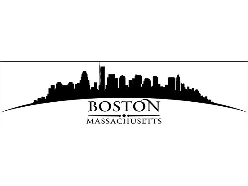 Decorative Window Film Skyline Boston