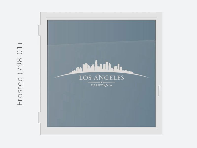 Decorative Window Film Skyline Los Angeles