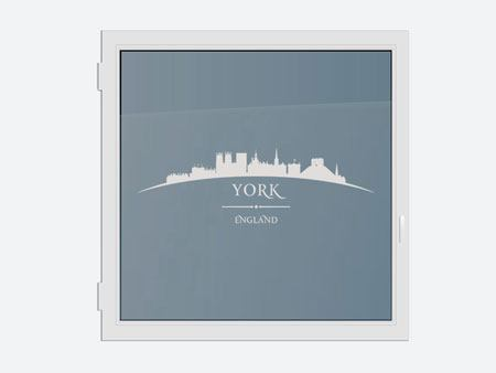 Decorative Window Film Skyline York