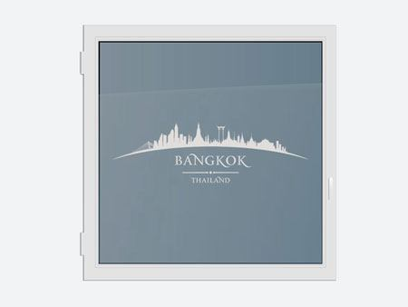 Decorative Window Film Skyline Bangkok