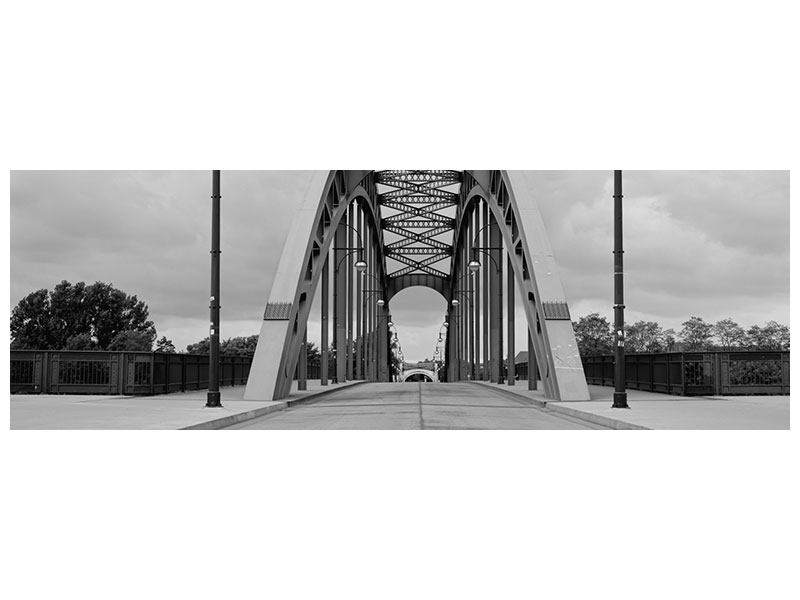 Panoramic Poster Poetic Bridge