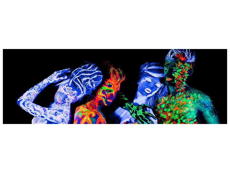 Poster Panoramica Bodypainting