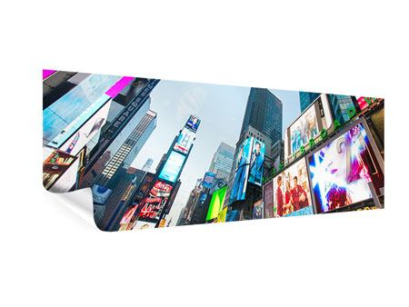 Poster Panoramique Shopping à NYC