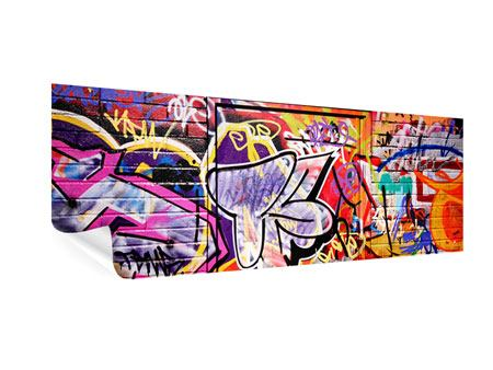 Panoramic Poster Graffiti Wall Art