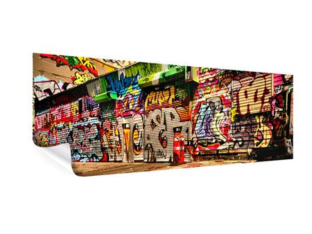Panoramic Poster Graffiti NY