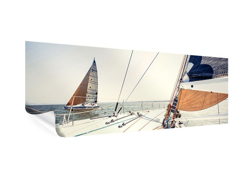 Poster Panoramique Yacht