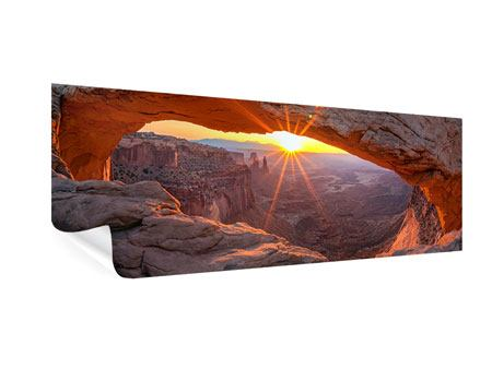 Panoramic Poster Sunset At Mesa Arch