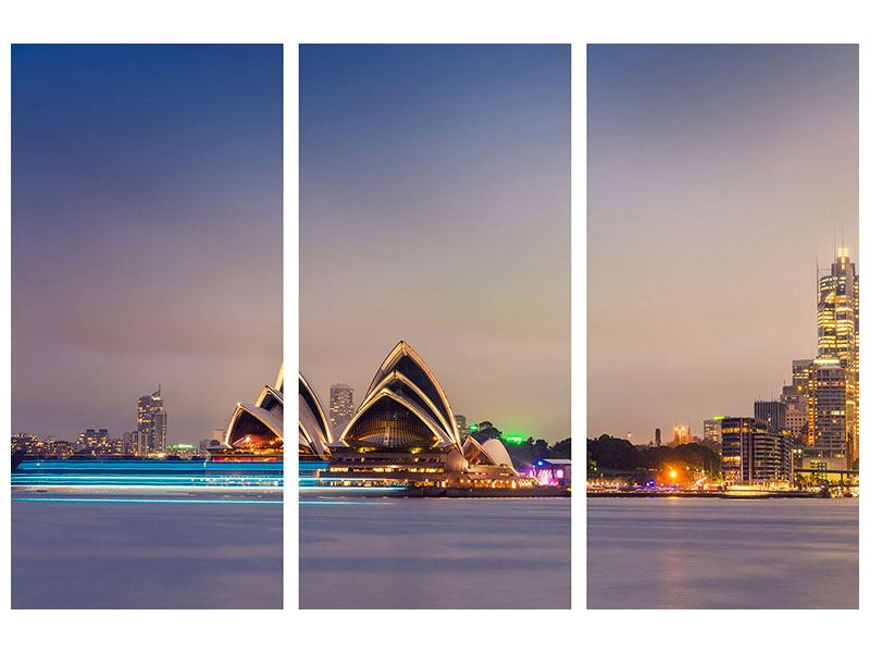 3 Piece Poster Opera House