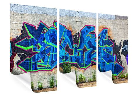 3 Piece Poster Graffiti NYC