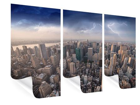 3 Piece Poster Manhattan