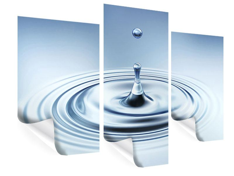 Modern 3 Piece Poster The Drop