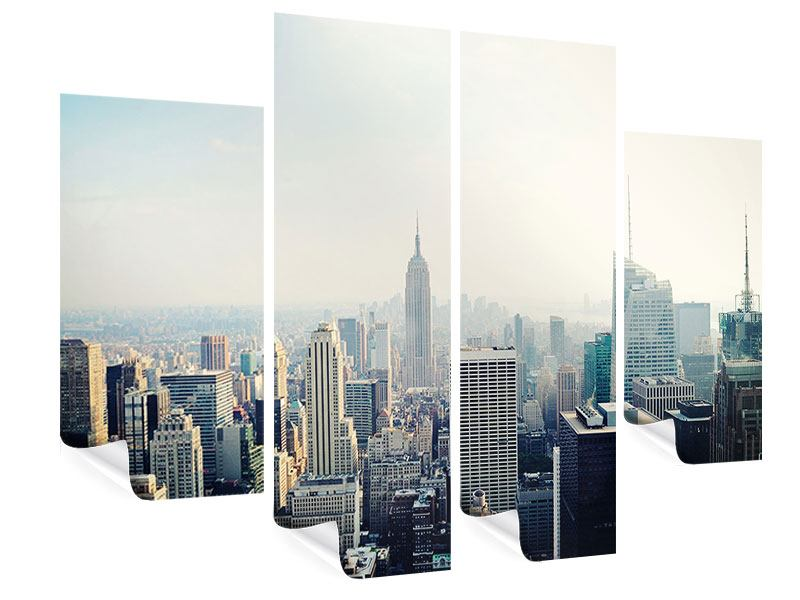 4 Piece Poster NYC