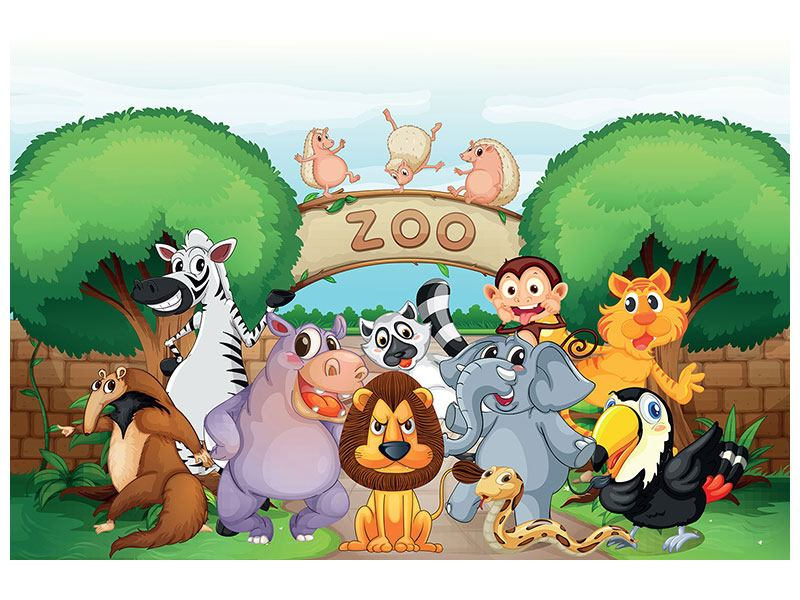 Poster Funny Zoo