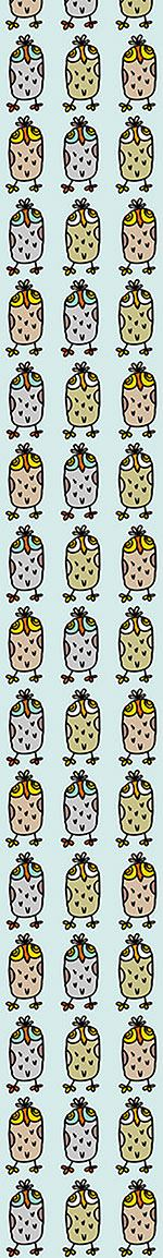 Design Wallpaper Owls In A Row
