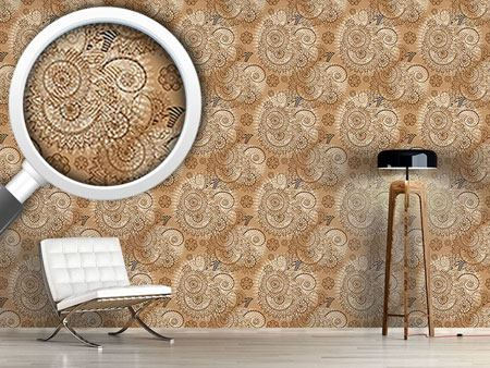 Design Wallpaper Indian Lace