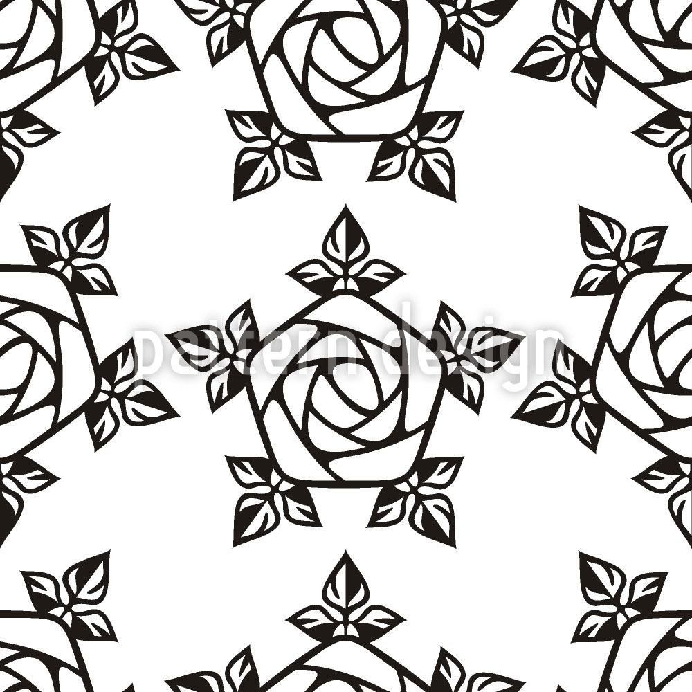 Design Wallpaper Gothic Rose