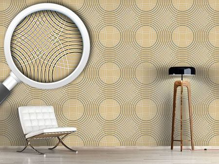 Design Wallpaper Vertigo Beige