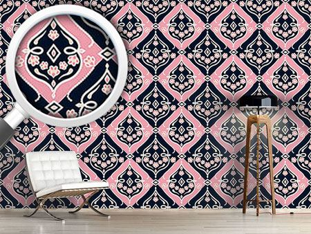 Design Wallpaper Folkloria Rose