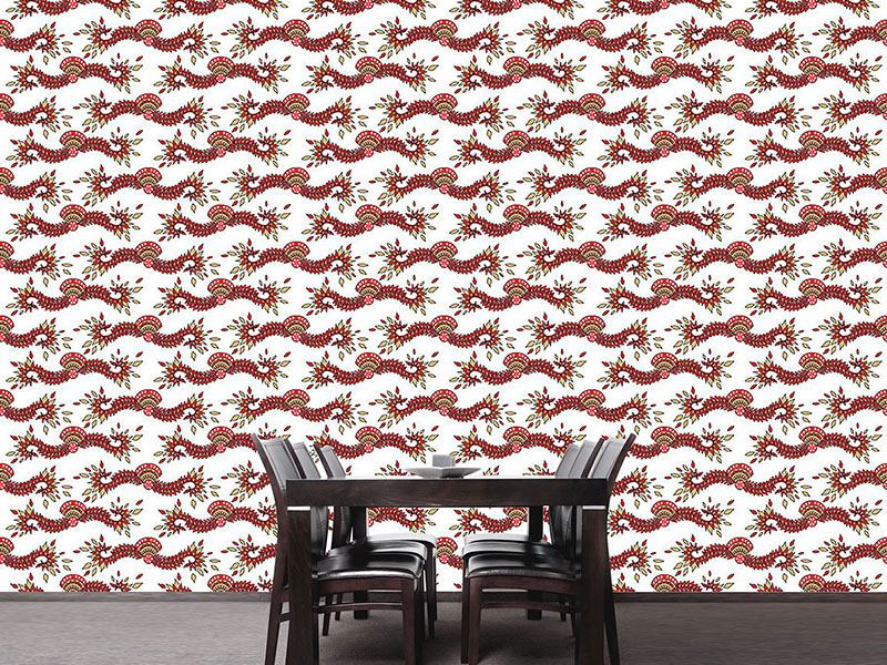Design Wallpaper Cavallo White
