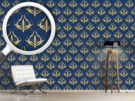 Design Wallpaper Lily Blue