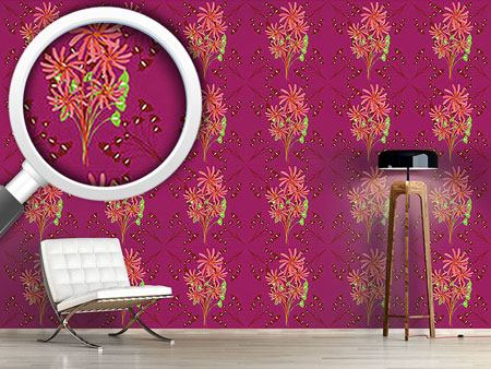 Design Wallpaper Fantasia Floral