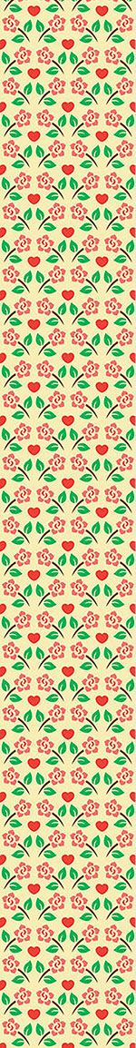 Papel tapiz de diseño Hearts And Roses