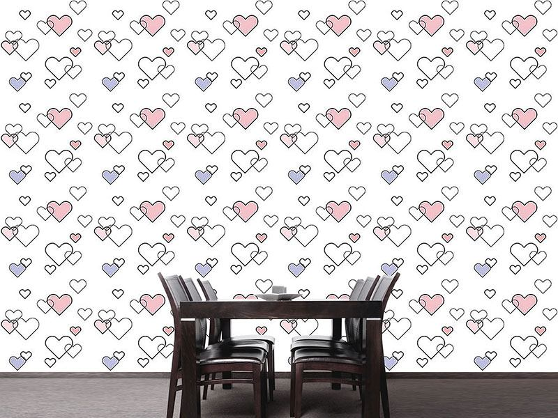 Papier peint design Heart Full