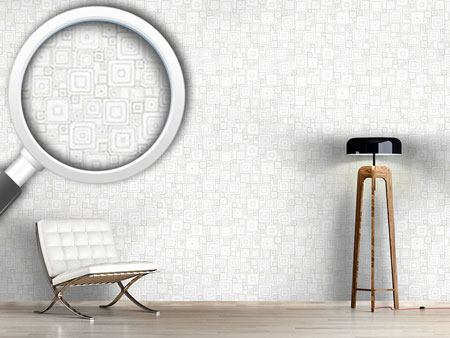 Design Wallpaper Grey Squares