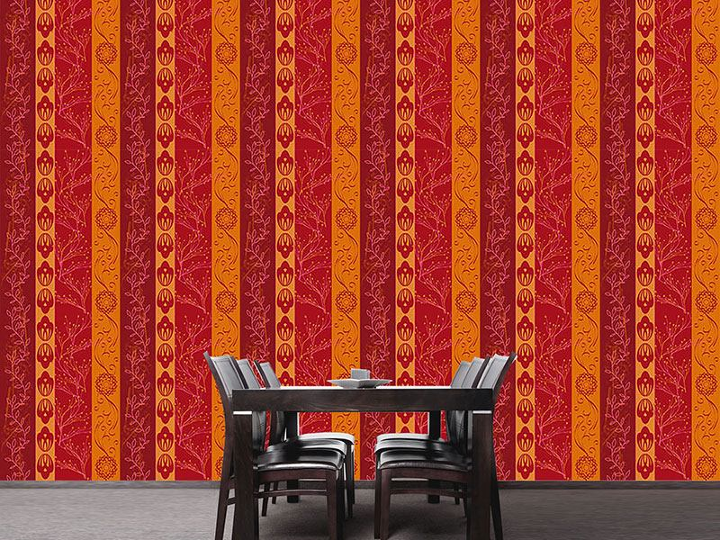 Papier peint design Rural Stripes