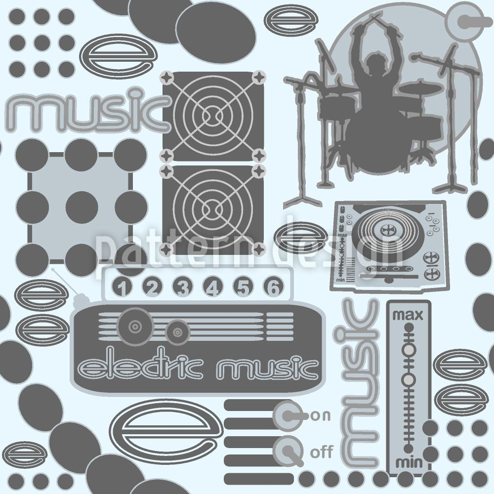 Design Wallpaper Electric Music