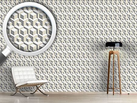 Design Wallpaper Manhattan Transfer Grey