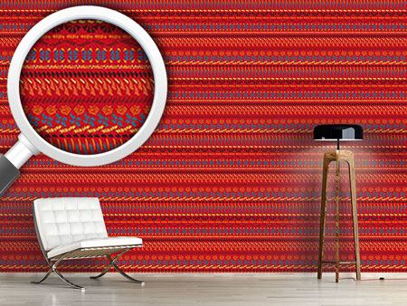 Design Wallpaper Multi Kulti Red