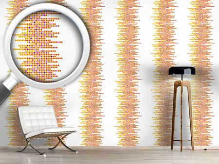 Design Wallpaper Clustered Tiles Sun
