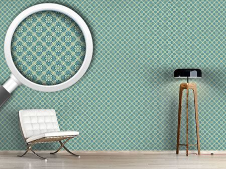 Design Wallpaper Bloom Green