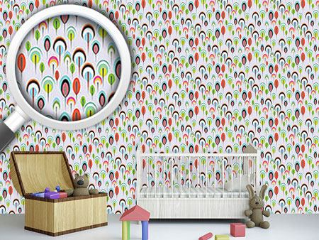 Design Wallpaper Mother Hulda Color